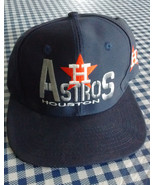 Houston Astros Cap Embroidered Navy Blue - $12.95
