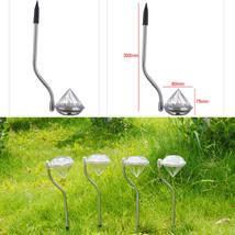 4X Waterproof Solar Power Outdoor Yard LED Path lamp Garden Lawn Landsca... - $13.71
