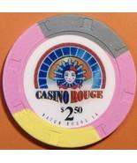 $2.50 Casino Chip. Casino Rouge, Baton Rouge, LA. V25. - $4.99