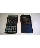 SHARP EL-531W Scientific Calculator Advanced D.A.L. with case/cover - $89.49
