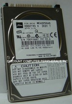 "NEW MK4025GAS Toshiba HDD2190 40GB 2.5"" 9.5MM IDE 44PIN Hard Drive Free USA Ship"