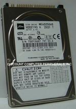 "NEW MK4025GAS Toshiba HDD2190 40GB 2.5"" 9.5MM IDE 44PIN Hard Drive Free ... - $39.15"