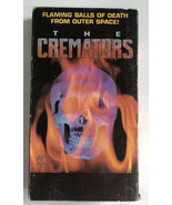 Super Rare Horror VHS Tape The Cremators Flaming balls of death from space - $42.06