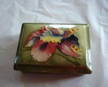 Moorcroft oblong covered dish, bowl or box