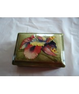 Moorcroft oblong covered dish, bowl or box - $99.00