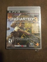 Uncharted 3: Drake's Deception Game of the Year Edition (PS3) 3D Compati... - $29.99
