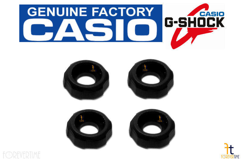 Primary image for CASIO G-Shock GW-A1000 Original Decorative Black Rubber Collar Piece (QTY 4)
