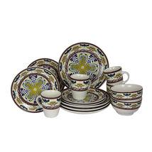 Elama Countryside Sunrise 16pc Stoneware Dinnerware Set - $62.32