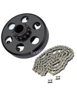 ENGINE 212CC  CENTRIFUGAL CLUTCH & #35 CHAIN  for Go Kart Cart Minibike ... - $44.45