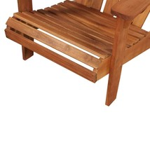 vidaXL Solid Acacia Wood Garden Adirondack Chair Furniture Patio Outdoor image 2