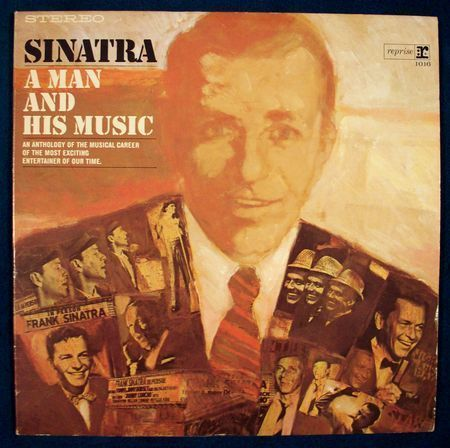 Lpj fs sinatra a man and his music