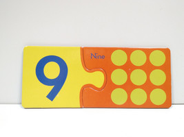 eeBoo Simple Puzzle Pairs Alphabet/Number Matching Game Replacement Numb... - $2.47