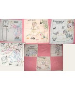 Omaha 1940's newspaper nursery rhyme quilt 21 Block embroidery pattern   - $10.00