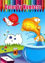 Color by Numbers - Kids Coloring Book - $5.93