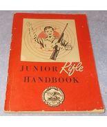 Vintage NRA National Rifle Association Junior Rifle Handbook 1955 - $5.95