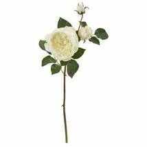 "Modern White 22? Rose Artificial Flower (Set of 6) - 22"" - $116.40"