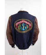Vintage Dehen Mens Varsity Bomber Jacket XL Long Anchor Steam beer San F... - $345.51