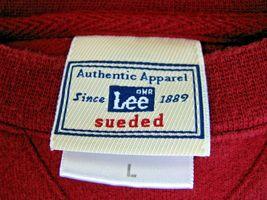 Lee Sueded Dallas Rancho Zabaco Winery Crush Mens Red Crewneck Sweatshirt Large image 3