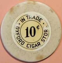 10¢ Casino Chip, Oxford Cigar Store, Orlando, FL. T69. - $3.50