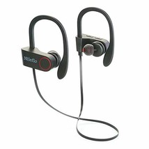Wireless Sweatproof Bluetooth Headphones with Mic: Workout Earbuds Compa... - $19.02
