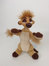 "Vintage 1994 Disney The Lion King 11"" Timon w/ Vinyl Head Plush Stuffed Toy - $15.79"