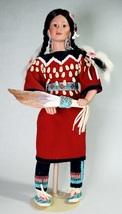Danbury Mint Gentle Dove Native American Indian Doll 1993 Judy Belle - $35.00