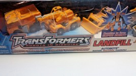 Transformers Robots In Disguise Landfill 4 Pack Set Hasbro 2002 - $38.61