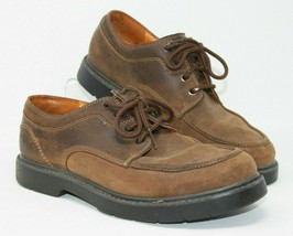 Timberland Mens 11 M Oxfords Casual Lace Up Waterproof Shoes Brown Leath... - $23.74