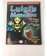 Luigi's Mansion Prima Official Strategy Guide Nintendo GameCube with poster - $24.99