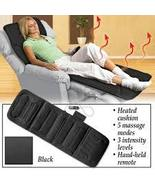 Plush Heated Massage Chair Pad with Remote - $53.32
