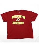 Majestic Washington Redskins T-Shirt Größe 2XL XXL Herren Kurzarm NFL Fu... - $12.53