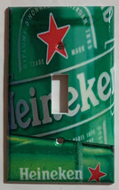 Heineken Beer Cans bottle Light Switch Power Outlet wall Cover Plate Home Decor image 1