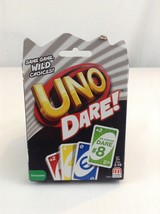 UNO Dare! Card Game - NEW Sealed, Family Fun, 112 Cards Party Gaming - $6.79