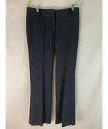 J. Crew Jeans Trousers 4 Tall Dark Blue Cotton Elastane Stretch Blend Zi... - $44.55