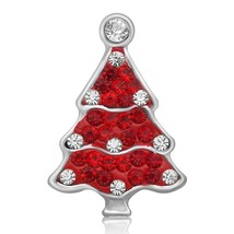 Rhinestone Christmas Santa Claus Bell Tree sock snowman hat 18MM snap buttons fi - $13.14