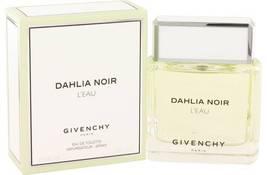 Givenchy Dahlia Noir L'eau Perfume 3.0 Oz Eau De Toilette Spray image 5