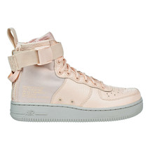 Nike Special Forces Air Force 1 Mid Women's Shoes Light Orange aa3966-800 - $158.95