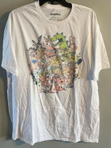 Nickelodeon Vintage Group Cartoons T-Shirt -New With Tags Size XXL - $15.83