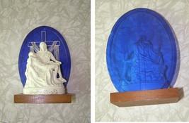 1964 New York World's Fair Vatican Pavilion Souvenir Pieta Statue - $34.99