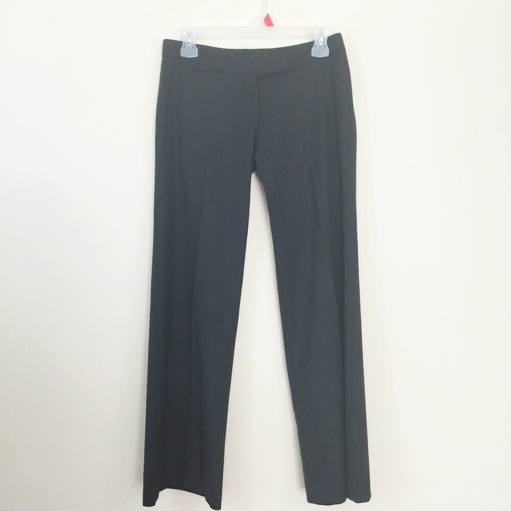 Primary image for French Connection Women`s Size 2 Black Wool Blend Dress Pants With FLAW