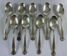 Vintage Rogers & Bro IS DAYBREAK Silverplate Flatware 9 Spoons - $24.74