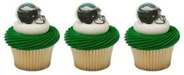 Philidelphia CUPCAKE Toppers Birthday Favors Sports Party Decoration Rin... - $8.86
