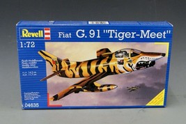 1:72 FIAT G.91 TIGER MEET Military Airplane REVELL Model, NOS Sealed L-2192 - $22.46