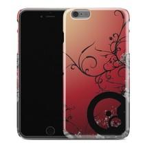 Casestry | Red Sunset Black Flower Vine Unique | iPhone 6 Plus Case - $11.99