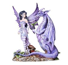 Fantasy Fairyland Dragons Are Romantic Statue by Artist Amy Brown Tabletop Decor - $69.29