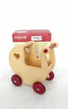 HABA Moover Danish Design Toys Mini Doll Pram, Natural Wood - $31.79