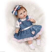 Jasalus 22 Inch Soft Silicone Vinyl Reborn Baby Dolls Lifelike Newborn B... - $64.87