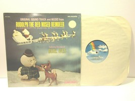Vintage Rudolph The Red Nosed Reindeer Soundtrack Vinyl LP Record Album ... - $19.77