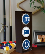 "INDIANAPOLIS COLTS NFL LOGO ""LET'S GO COLTS"" FLASHING LIGHT - €30,84 EUR"