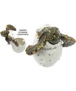 Hatching Sea Turtle Jeweled Trinket Box with SWAROVSKI Crystals, by RUCINNI - $64.95